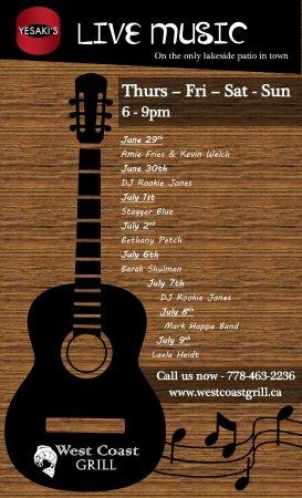 Nelson, Canada: Live Music Program