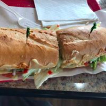 Webster Groves, MO: Italian Salad Sandwich