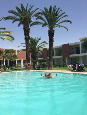 Hotel Volubilis: Dommage aurait besoin de renouvellement pour tout ce qui extérieur