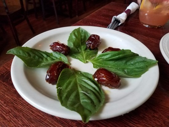 Takoma Park, MD: Dates appetizer