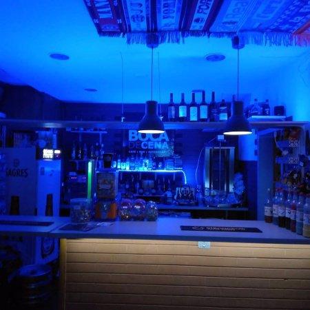 Boca de Cena: Visão do Bar. Bar view.