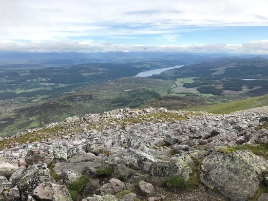Perth and Kinross, UK: View toward Queens View