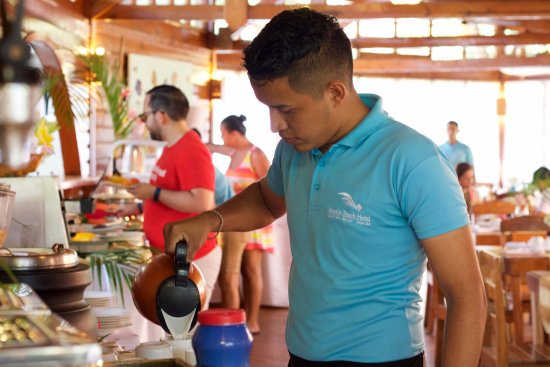 Breakfast service and Buffet. Enjoy the most important meal of the day at Paradise Beach Hotel.