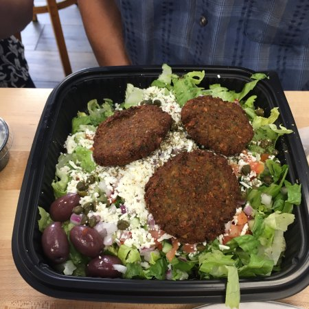 Kensington, MD: Falafel Salad