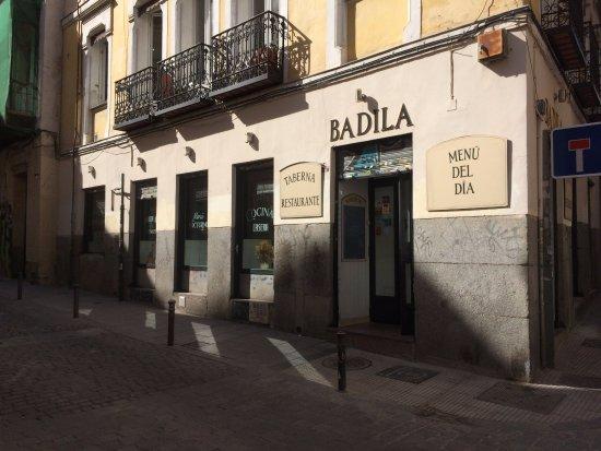 El Menú De Fin De Semana Picture Of Restaurante Badila Madrid Tripadvisor
