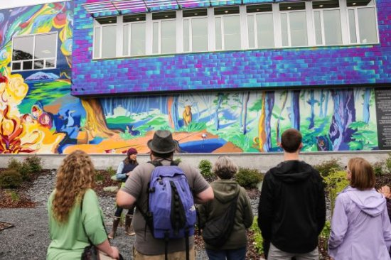 The Painted Whale Seward Mural Walking Tours