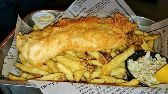 Harbour Street Fish Bar: Cod fish and chips with extra piece of fish
