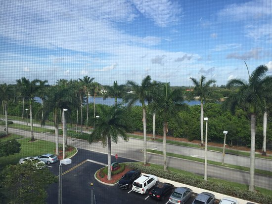 Dania Beach, Flórida: View from our fifth floor room