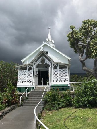 Honaunau, Hawái: St Benedictine Catholic Church- aka Painted Church