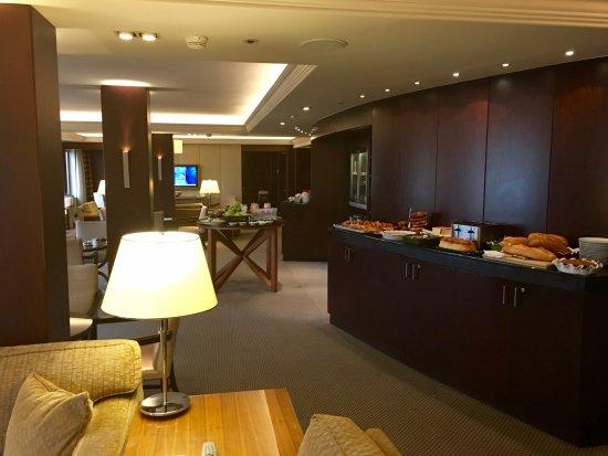 Grand Hyatt Istanbul: Grand Club lounge
