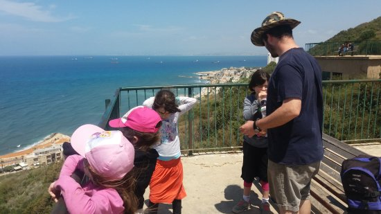 Stella Maris Lighthouse and Carmelite Monastery: the viewing platform
