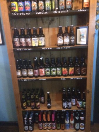 Beer Shed Micropub: A selection of world bottled beers