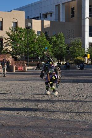 Gallup, NM: Native America dancer
