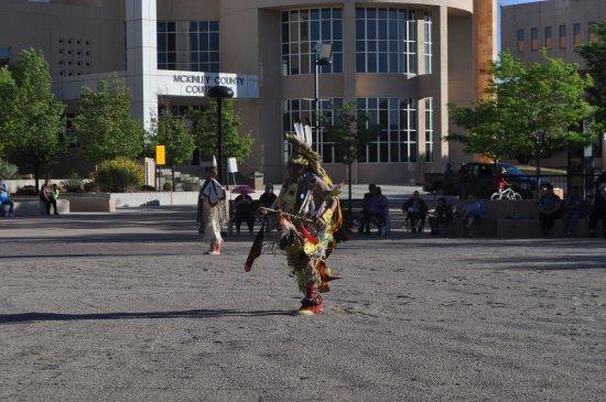 Gallup, NM: Native American Indian Dancer