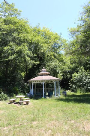 Jenner, CA: The gazebo, perfect for a wedding ceremony or any other private event