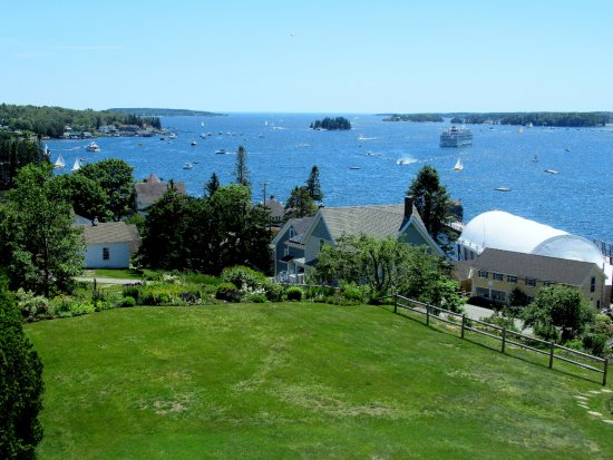 Topside Inn: Terrific view from our room.