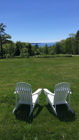 Lincolnville, ME: View from upper cottage