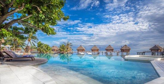 Manava Beach Resort & Spa - Moorea : Manava Beach Resort & Spa Moorea - Pool Area