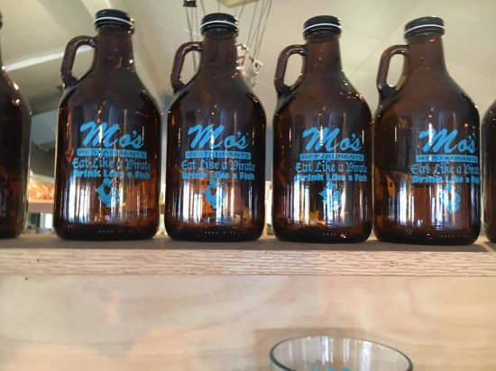 Otter Rock, OR: Mo's Growlers. Try our special Rogue beer made just for Mo