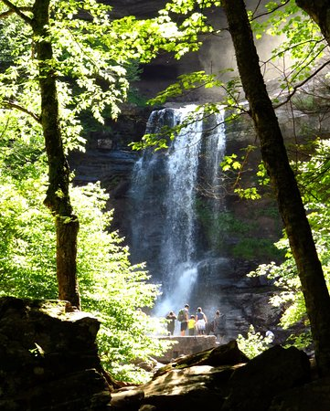 Haines Falls, Estado de Nueva York: Lower fall