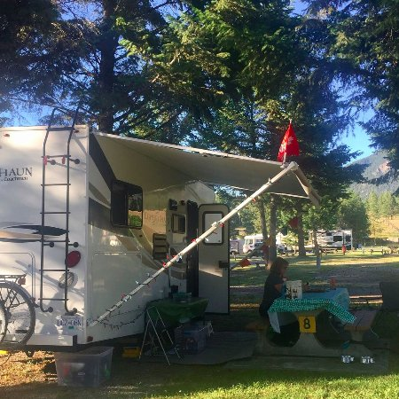 Fort Steele, Canada: RV campground