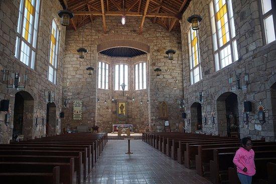 Mescalero, NM: Church Interior