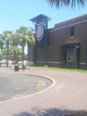 Dave Busters Myrtle Beach And Buster Sign Some Of Building