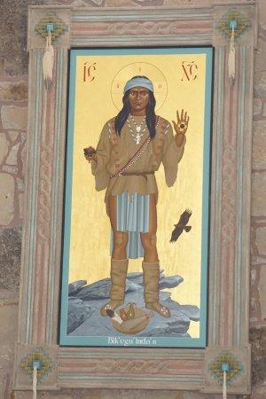 Mescalero, NM: Jesus Portrayed as an Apache