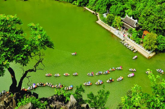 Ninh Binh und Hoa Lu Acient Zitadelle...