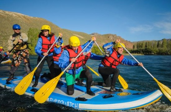 Stand Up Rafting Limay River From ...