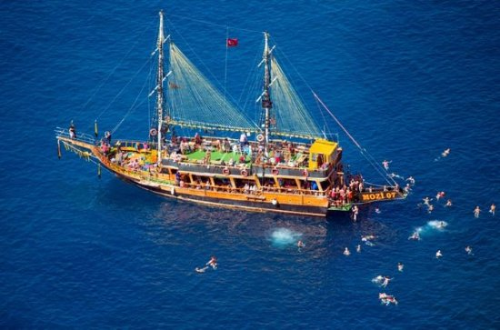 Blau Laguna  Boat Trip with Foam Party