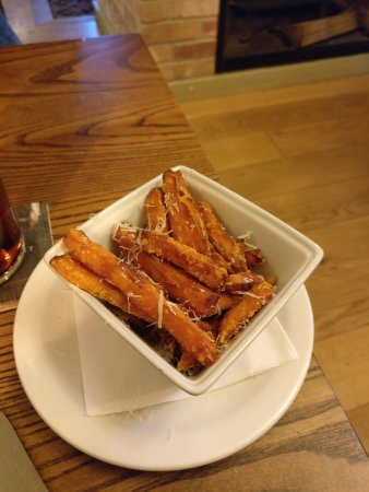 The King's Arms: Sweet Potato and Parmesan Fries