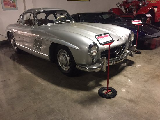 Marconi Automotive  Museum: Gull wing Mercedes Benz