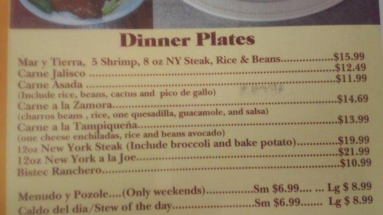 Littlerock, Kalifornia: Dinner Plates Continue