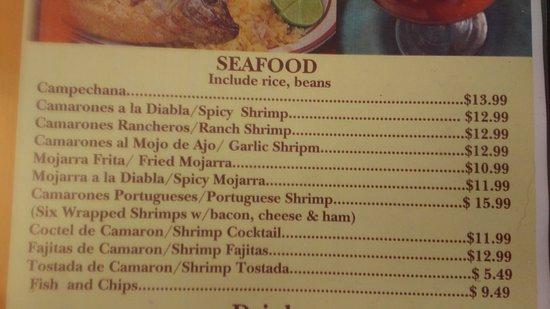 Littlerock, CA: Seafood