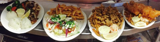 Joes Food Emporium: Local Seafood , Fresh Ingredients! Ask about the fish tacos, not on the menu but amazing when th