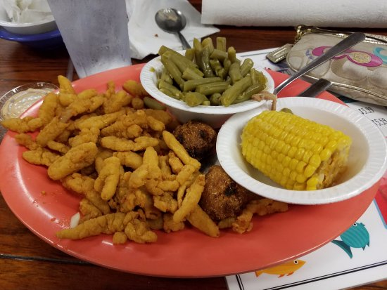 Clam strip dinner - Picture of Doc's Seafood Shack and ...