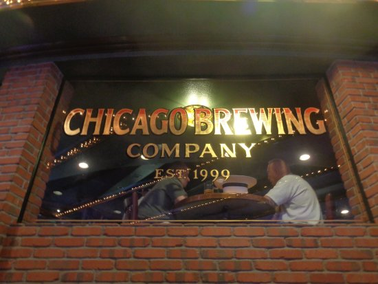 Chicago Brewing Company : sign