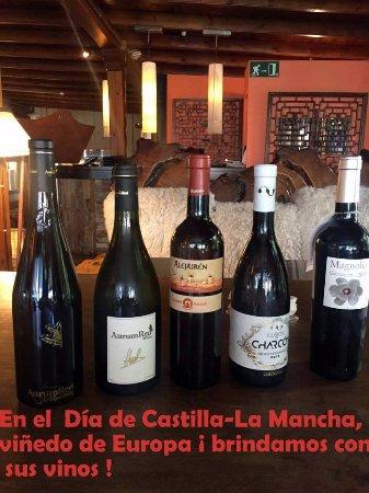 Alcobendas, España: Vinos de Castilla-La Mancha