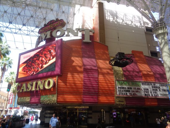 Casino at the Fremont Hotel : sign