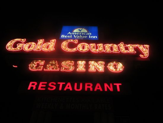 Gold Country Casino Sign, Elko, Nevada