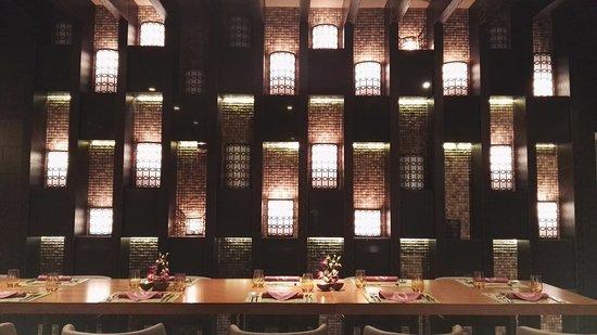 Hikina Chinese restaurant interiors modern stylish inviting