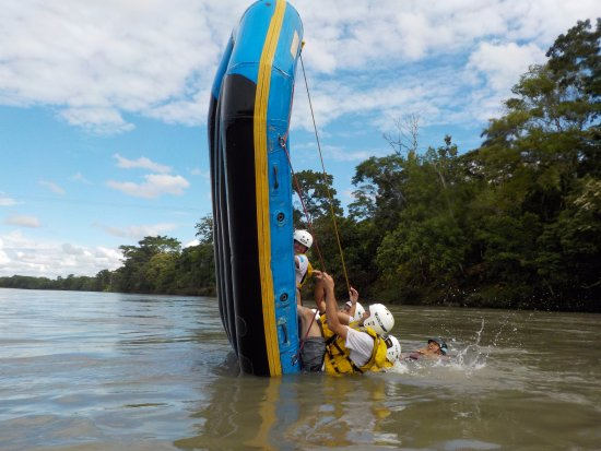 Tena, Ecuador: One of the best... Team Raft Amazonia