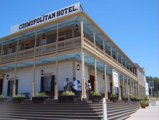 Cosmopolitan Hotel: ligging is TOP