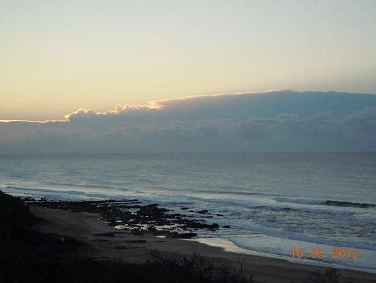 Wild Coast Sun Hotel: Sunsetting at Wild coast