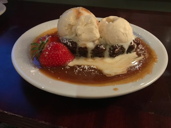 Gairloch, UK: Homemade deserts at The Millcroft hotel - Will you join us for some sticky toffee pudding?