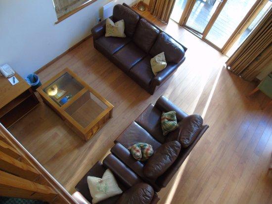 Luxury Woodland Lodges at Macdonald Aviemore Resort: Luxury Wooden Lodge interior - Macdonald Aviemore Resort