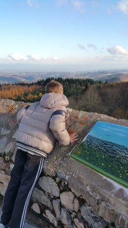 Champoly, France: Vue du haut du donjon ©Brugirard