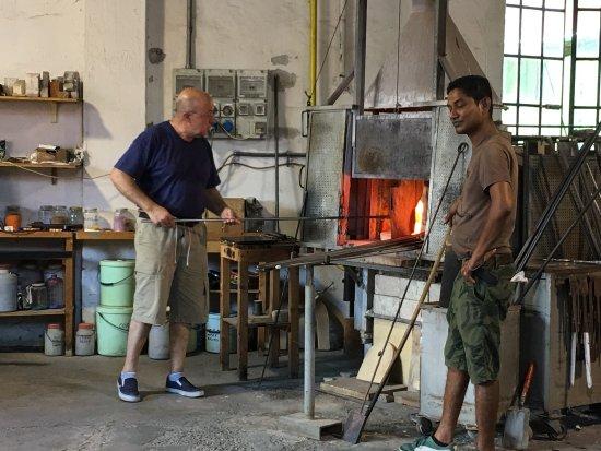Guarnieri Glass Factory: Super à voir merci