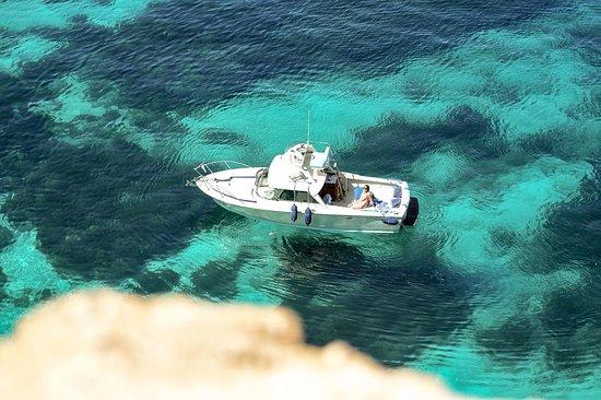 Munxar, Malta: Thirty Seven Gozo offers boat excursions around Comino island